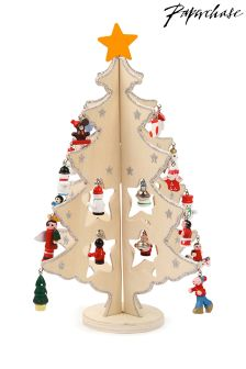 Paperchase Wooden Ornament Tree