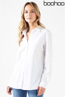 Boohoo Fitted Shirt