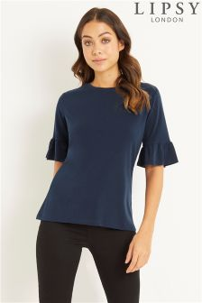 Lipsy Flute Sleeve Top