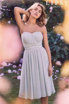 Lipsy Grace Mesh Multiway Midi Dress