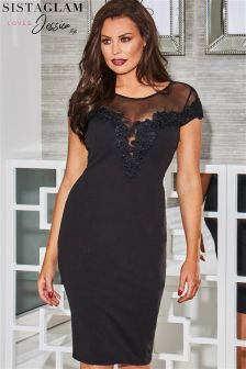 Sistaglam Loves Jessica Bodycon Dress