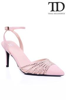 Glamorous Diamanté Embellished Heels