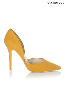 Glamorous Two-Part Court Shoe