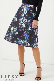 Lipsy Jacquard Printed Prom Skirt