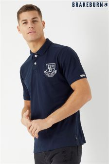 Brakeburn Embroidered Polo T-Shirt
