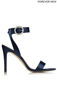 Forever New Jewelled Buckle Heels