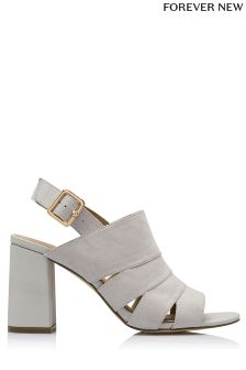 Forever New Bonnie Spliced Cut Out Booties