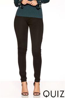 Quiz High Waist Stretch Skinny Jeans