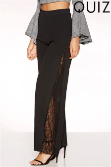 Quiz Lace Insert Trousers