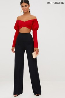PrettyLittleThing High Waisted Trousers