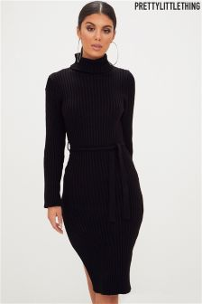 PrettyLittleThing Long Sleeved Jumper Dress