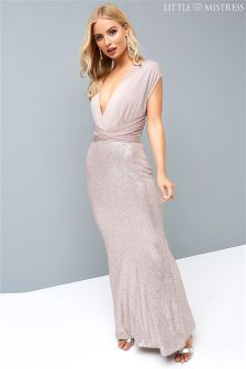 Little Mistress Multiway Seqin Maxi Dress