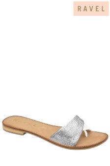 Ravel Metallic Flip Flops