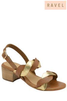 Ravel Mid Heel Sandals