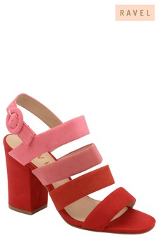 Ravel Two Tone Heeled Sandals