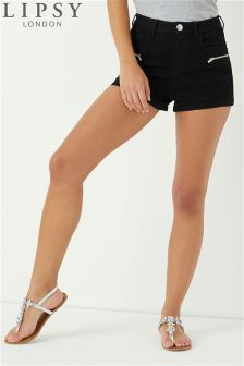 Lipsy Zip Shorts