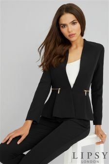 Lipsy Peplum Tailored Blazer