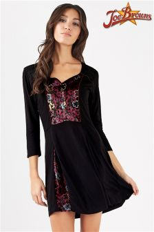 Joe Browns Velvet Tunic Dress