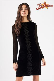 Joe Browns Velvet Shift Dress