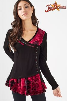 Joe Browns Velvet Top