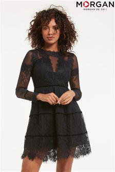 Morgan Lace Bodycon Dress
