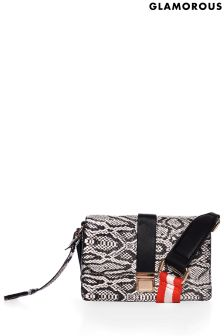 Glamorous Snake Cross Body Bag