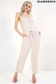 Glamorous Drawstring Waist Jumpsuit