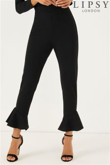 Lipsy Tailored Flute Hem Trousers