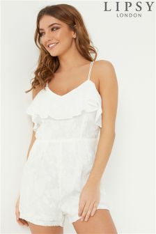 Lipsy Pleated Playsuit