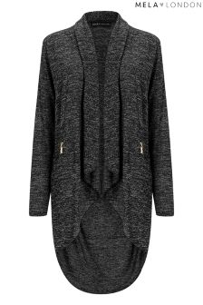 Mela London Two Zip Cardigan