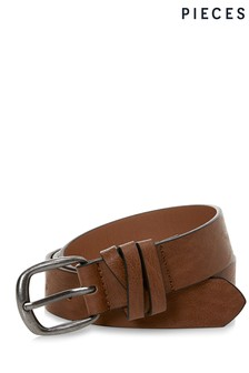 Pieces Classic Brown Belt