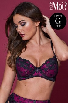 Pour Moi Amour Underwired Non Padded Bra E+