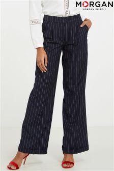 Morgan Stripe Trousers