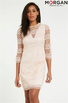 Morgan Lace Detailed Dress