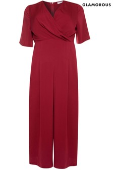 Glamorous Curve Taliored Jumpsuit