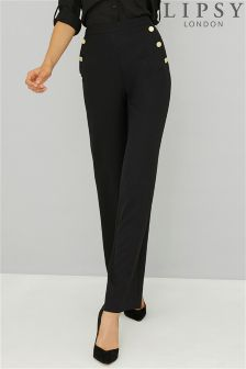 Lipsy Tailored High Waisted Wide Leg Trousers