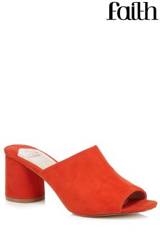 Faith Flame Mules