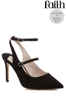Faith Ankle Strap Mary Jane Courts