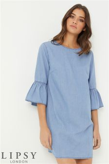 Lipsy Lightweight Denim Dress