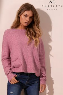 Angeleye Front Pocket Jumper