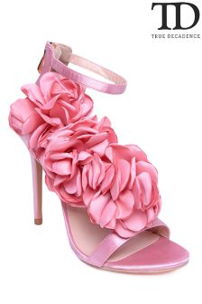 True Decadence Flower Sandal