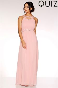 Quiz Embellished Maxi Dress