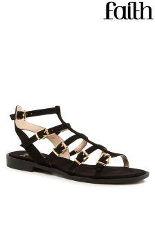 Faith Plain Gladiator Sandals