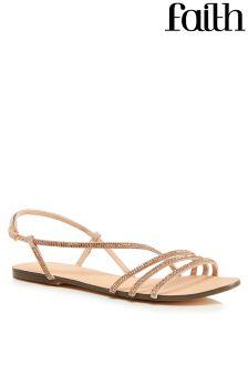 Faith Diamanté Sandals