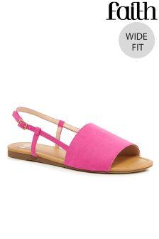 Faith Sling Back Sandals