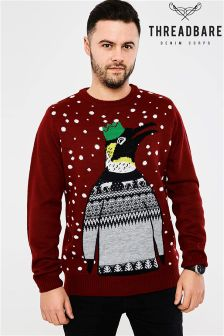 Threadbare Penguin Jumper