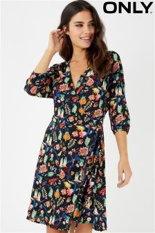 Only Tea Print Dress