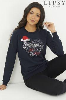 Lipsy Prosecco Christmas Sweatshirt Jumper