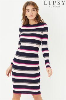 Lipsy Stripe Midi Dress