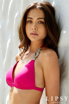 Lipsy Jewel Bikini Top